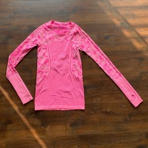 Neon Pink Lululemon Long Sleeve